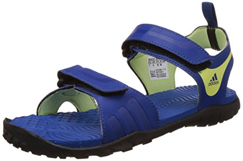 adidas Women's Escape 2.0 W Blue, Dark Blue, Light Yellow and Black Fashion Sandals - 7 UK  available at amazon for Rs.1149
