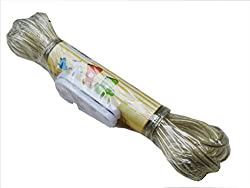 Laundry rope 10 M ,Nylon Outdoor Laundry Clothesline Rope For Drying Clothes PVC10M