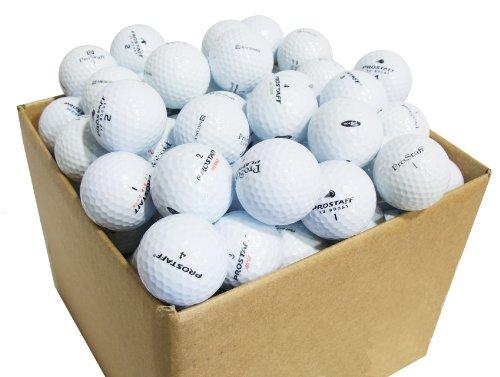 Second Chance Wilson Pro Staff Set 100 Palline da Golf, Categoria A, Bianco, 100