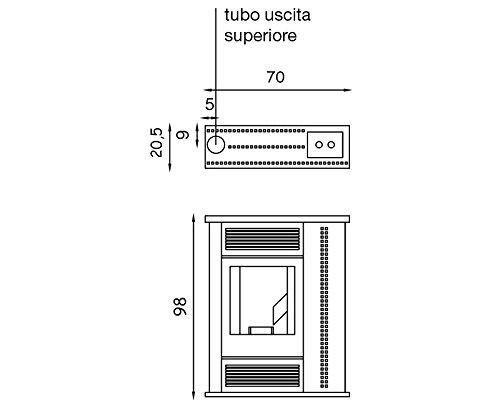 STUFA-A-PELLET-PALLADIO-SCOZIA-10-KW-BORDEAUX