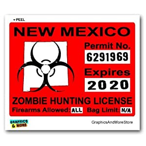 New mexico nm zombie hunting license permit for New mexico fishing license