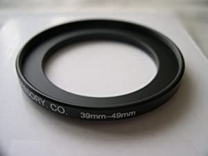 HeavyStar Dedicated Metal Stepup Ring 39mm-49mm