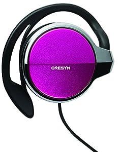 Cresyn CS-CH300 Pink Clip-On Headphones