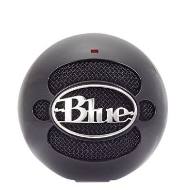 Blue Microphones Gloss Black Usb Snowball Microphone