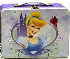 Tin Box Disney Metal Lunch Box Princess Assorted (3-Pack)
