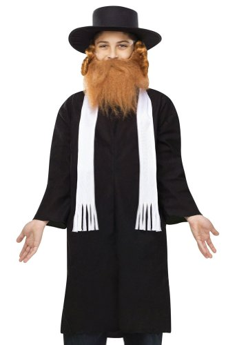 Jewish Rabbi Kids Costume - 1