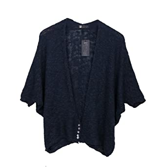 Ladies Deep V Neck Buttons Down Stretchy Cardigan Jumper