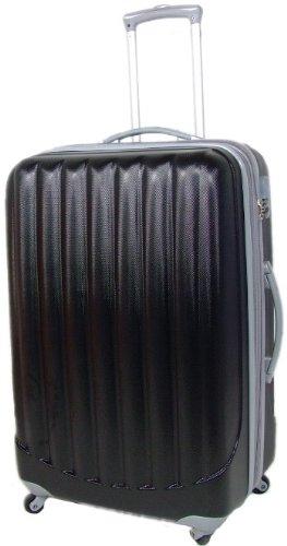 SCHWARZ 360° Rollensystem Reisekoffer Koffer