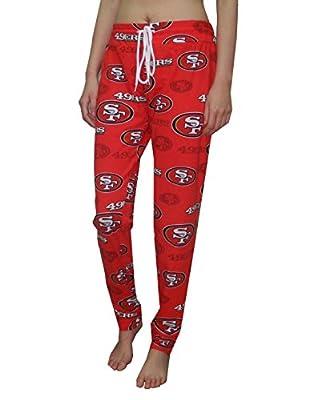 NFL - SAN FRANCISCO 49ERS: Womens Lightweight Summer Fall / Winter Pajama Pants