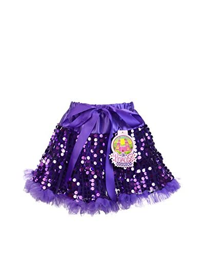 Princess Expressions Girl's Sequin Skirt with Ruffle