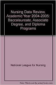Nursing Data Review, Academic Year 2004-2005 ...