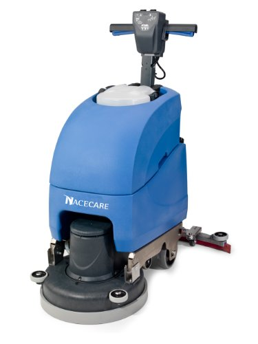 "Nacecare Tt 1120 Complete Electric Scrubber With 20"" Brush And Pad Driver, 11 Gallon Water Capacity, 1.6 Hp Vacuum Motor, 120V, 60 Hz"