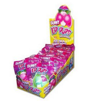 Easter Bunny Lip Pop Party Accessory