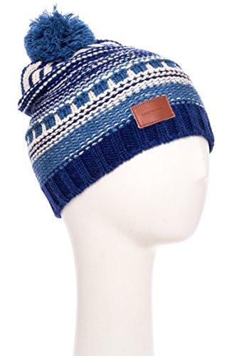 Unisex Knitted Pom Pom Beanie