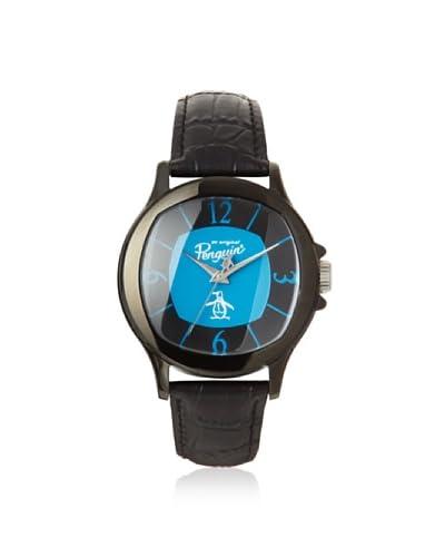 Original Penguin Men's OP-1032-BK Sid Blue/Black Watch