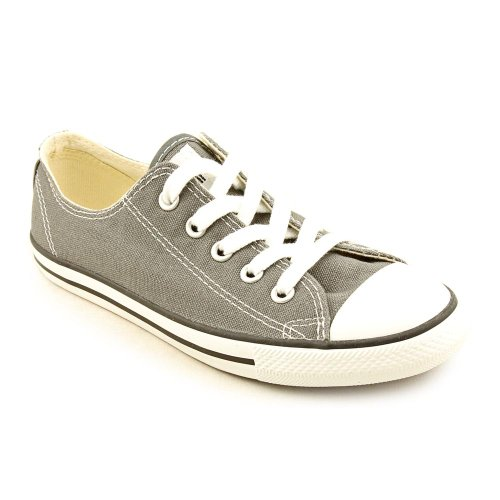 Converse Womens Chuck Taylor All Star Dainty Ox Sneaker Charcoal Size 10