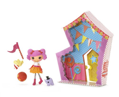 Lalaloopsy 3 Inch Mini Figure with Accessories Peanut Big Top - 1