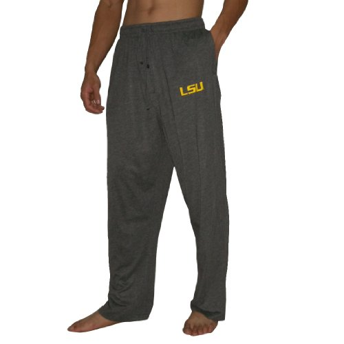 NCAA Mens LSU Tigers Fall / Winter Sleepwear / Pajama Pants - Grey (Size: S) at Amazon.com