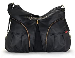 Skip Hop Versa Diaper Bag, Black