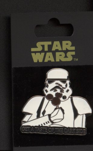 Disney Star Wars Stormtrooper with Mickey Mouse Ice Cream Bar Pin