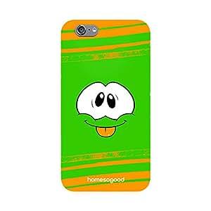 HomeSoGood Got Pranked Multicolor 3D Mobile Case For iPhone 6 (Back Cover)
