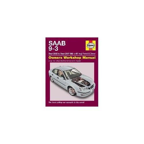 haynes-manual-saab-9-3-petrol-and-diesel-sept-2002-sept-2007