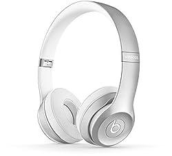 Beats Solo2 Wireless Headphones - Silver (MKLE2ZM/A)