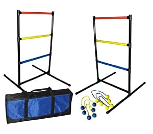 Amazon.com: Driveway Games Ladder Bolos Toss Game: Toys & Games