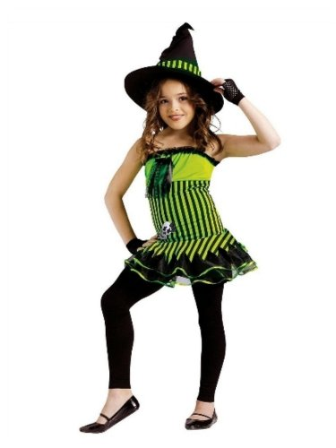 Fun World Costumes Girls Rockin Witch & Hat