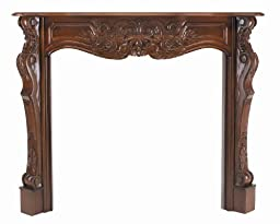 Pearl Mantels 134-48-30 Deauville Fruitwood Fireplace Mantel, Interior Opening 48-Inch Wide by 42-Inch High