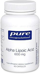 Pure Encapsulations - Alpha Lipoic Acid 600mg 60 VegiCaps