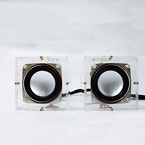 Senhu Music Sound Amplifier Electronic DIY Mini Remarkable Transparent Speaker Box DIY Suite