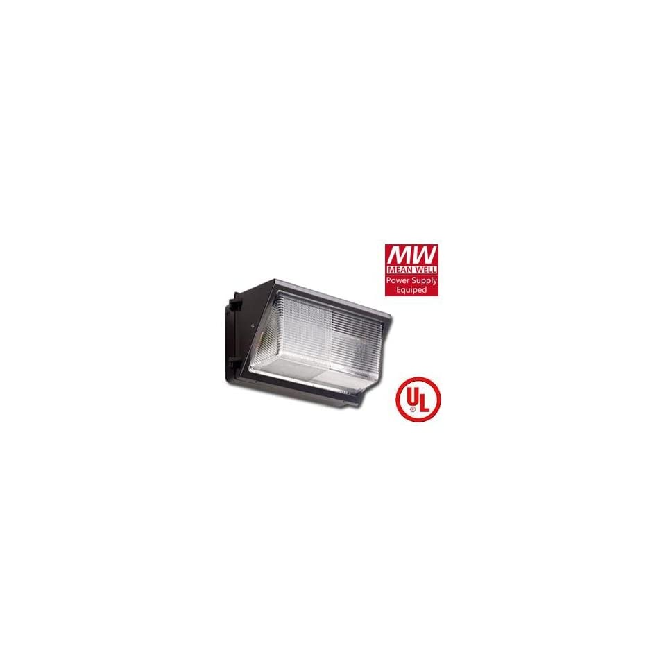 GreenLEDBulb 60 Watt High power LED Wall Pack Lighting Fixture Series (with MEAN WELL UL/cUL driver) Natural white, Cool and Warm availible