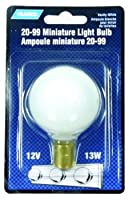 Camco 41203 RV 13-Watt White 20-99 Vanity Bulb - Pack of 1