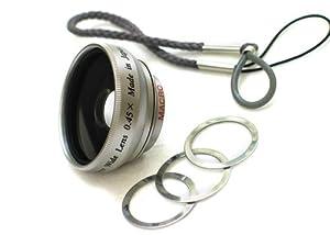 Rokinon 0.45x Wide Angle Lens for Flip Camera