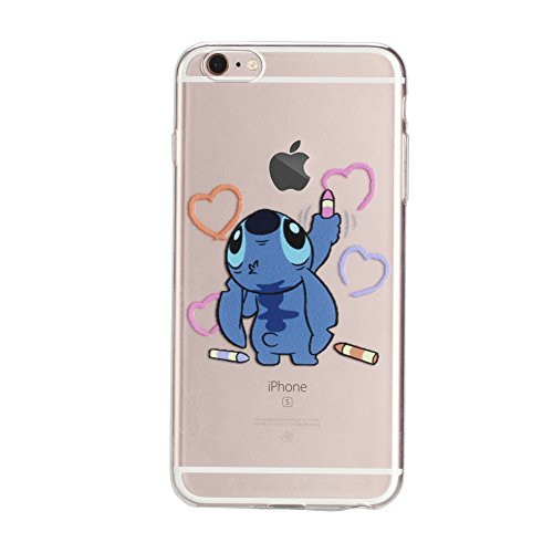 Cartoon Characters Iphone 6 Cases : Iphone s cases inch tpu case
