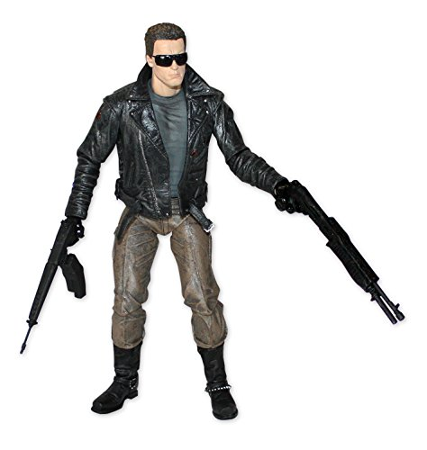 Terminator Action Figure - T-800 Ultimate Police Station
