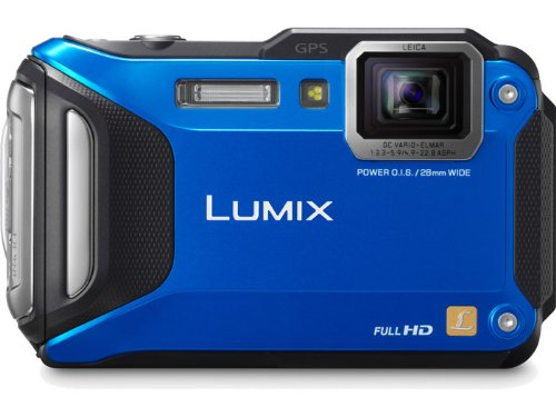 Panasonic Lumix DMC-TS5A 16.1 MP Tough Digital Camera with 9.3x Intelligent Zoom (Blue)