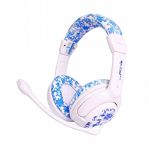 Qualityuc Limited Edition Vase Designer Computer Headphones With Microphone