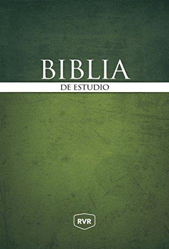 Santa Biblia de Estudio Reina Valera Revisada RVR, Tapa Dura (Spanish Edition) [Revisada, Reina Valera] (Tapa Dura)