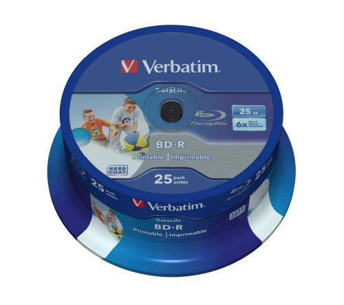 verbatim-43811-bd-r-6x-25-pack-datalife-optical-media