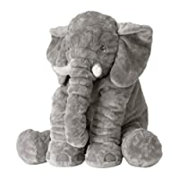"Ikea Elephant 24"" Stuffed Animal Klappar Elefant Plush Soft Toy by Ikea"