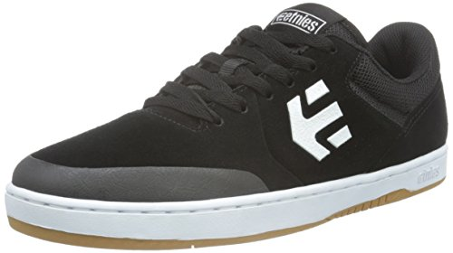 Etnies Men's Marana Skateboarding Shoe, Black/White, 10.5 M US
