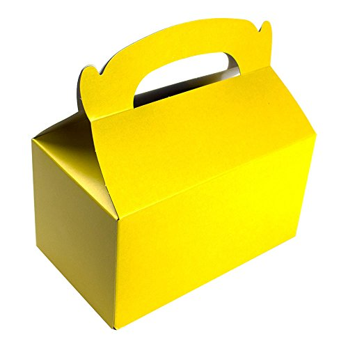Treat Boxes Bundle by Imprints Plus Includes (12 Pack) Plus Non-Negotiable Million Dollar Bill (Yellow) (Custom Treat Boxes compare prices)