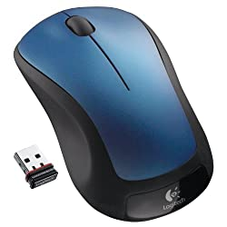 Logitech Wireless Mouse M310 (Peacock Blue)