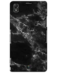 Black Marble case for Sony Xperia Z1