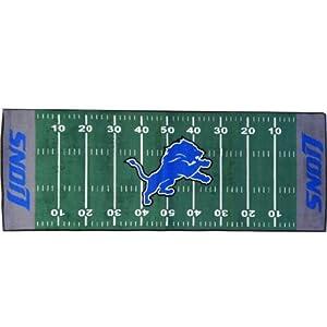 Detroit Lions 30x72 Runner Floor Mat (Rug) by Fanmats