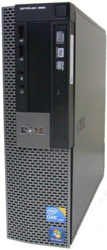 中古パソコン デスクトップ DELL OptiPlex 980 SFF Core i7 870 2.93GHz 4GBメモリ 320GB Sマルチ Windows7 Pro 搭載 Radeon HD 3450 リカバリーディスク付属 動作保証30日間
