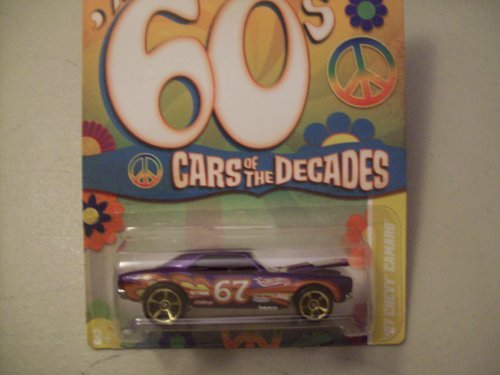 Hot Wheels Cars of the Decades The 60's 1967 Chevy Camaro