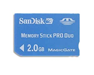 SanDisk 2 GB MemoryStick Pro Duo (SDMSPD-2048-A11, Retail Package)